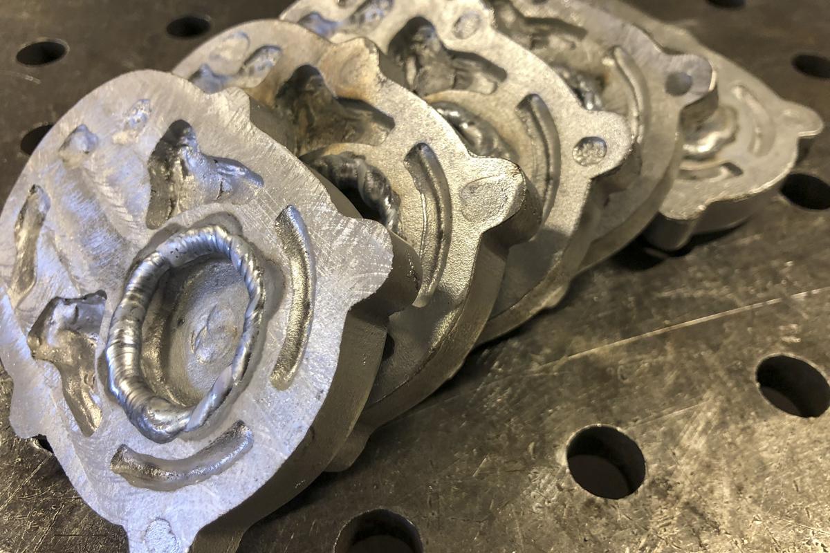 Metall Reparaturen Aluminium Schweißreparatur Abdeckung