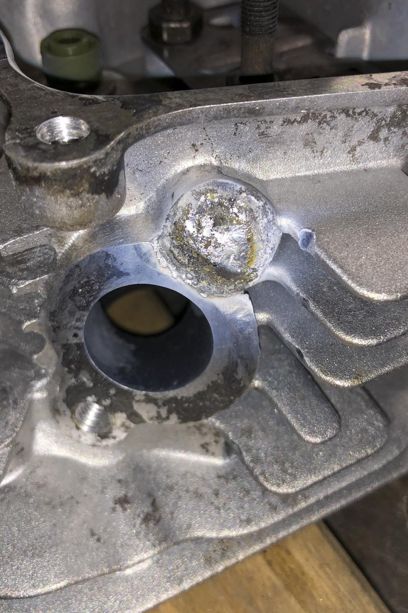Metall Reparaturen Aluminium Schweißreparatur Zylinder
