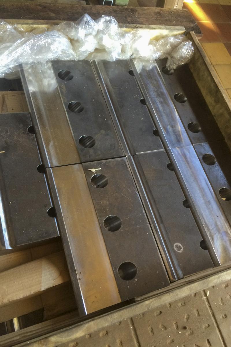 Metall Reparaturen Auftragsschweißen Warmfestem Stahl