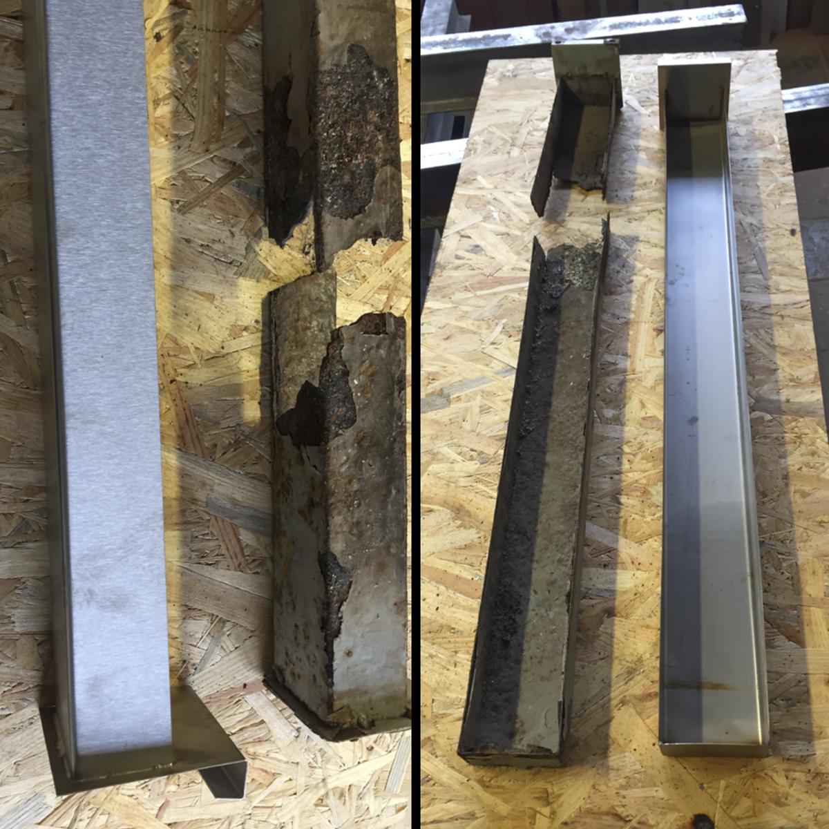 Metall Reparaturen Edelstahlschubkasten Nachbau Zentral Holzheizung