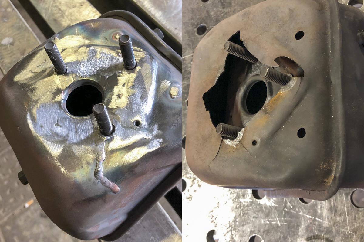 Metall Reparaturen Schweißreparatur Hächsler Auspuff