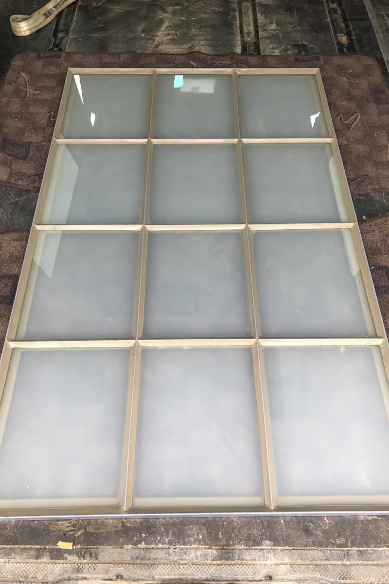 Metall Sonderanfertigung Herstellung Fenster Milchglas