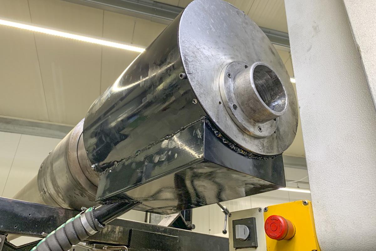 Metall Sonderanfertigung Schiebestück Ölauffang CNC Maschiene Pulverbeschichtung