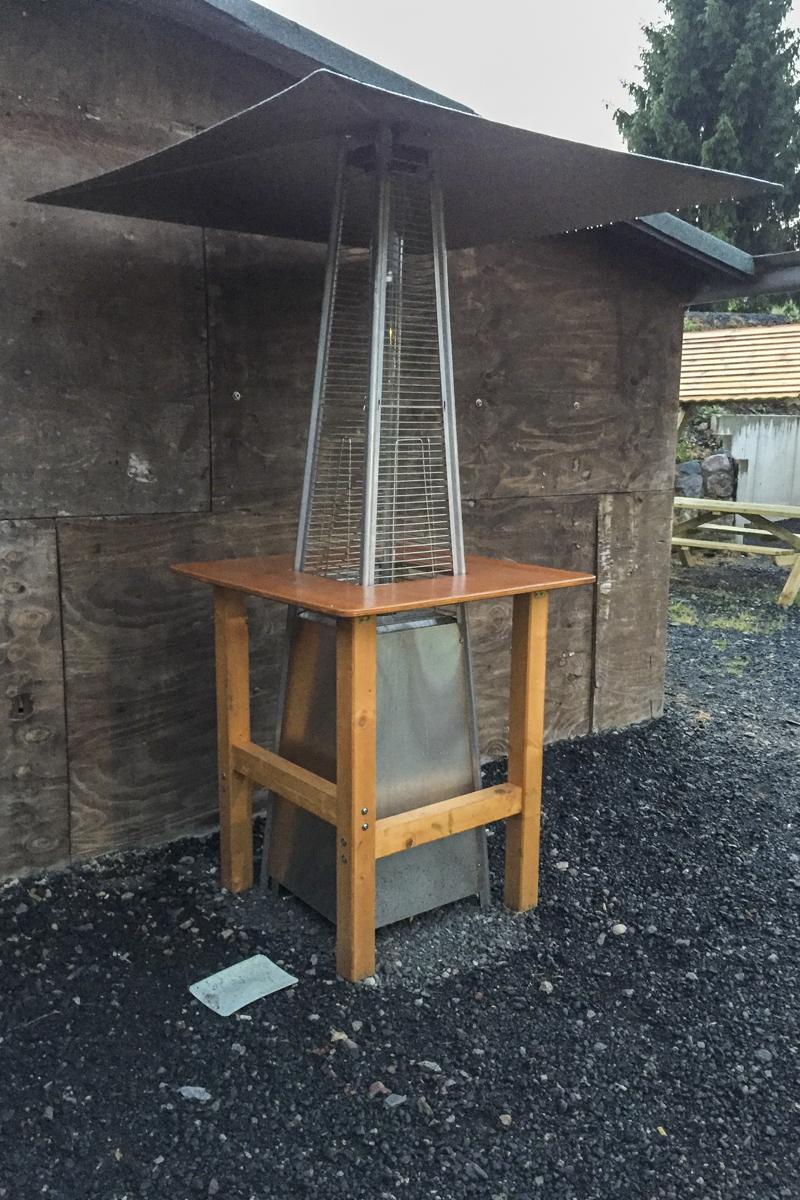 Metall Sonderanfertigung Schweißarbeiten Aluminium Überdachung Wärmepilz