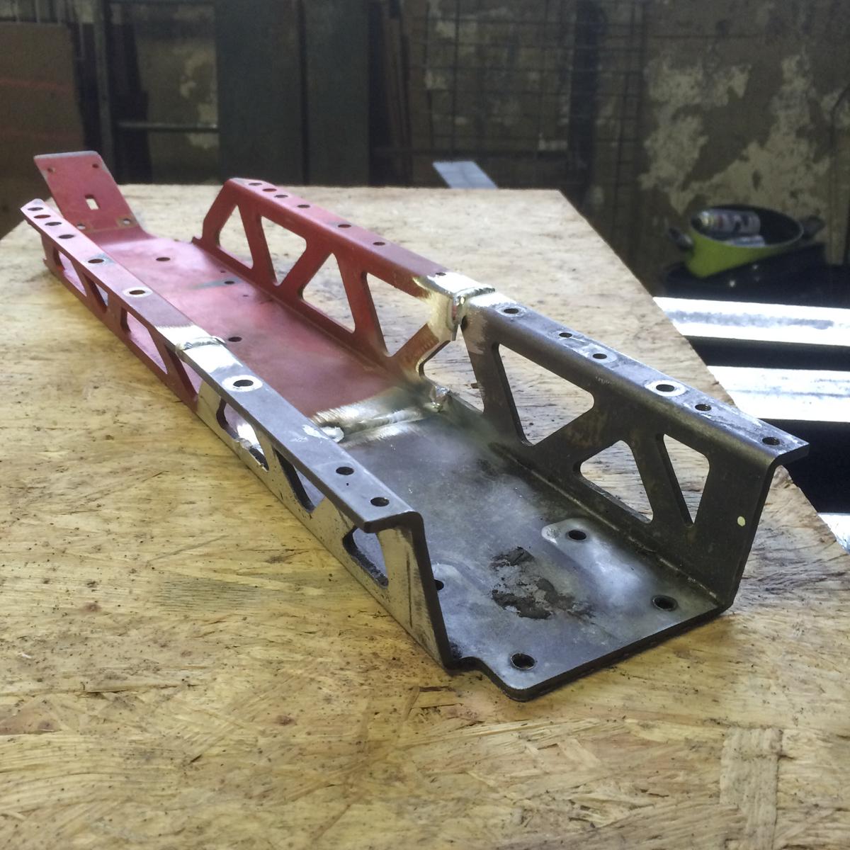 Metall Umbauten Rahmenverlängerung Aluminium benzinbetriebenes Kleinauto